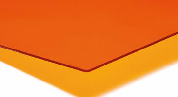 PLEXIGLAS® GS 3,0 mm, Orange Transparent LT 39%