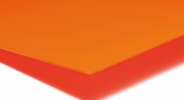 PLEXIGLAS® GS 3,0 mm, Orange Translucent LT 6%